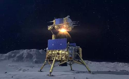 چانگ 5 نمونه هایی از ماه را به ارمغان می آورد